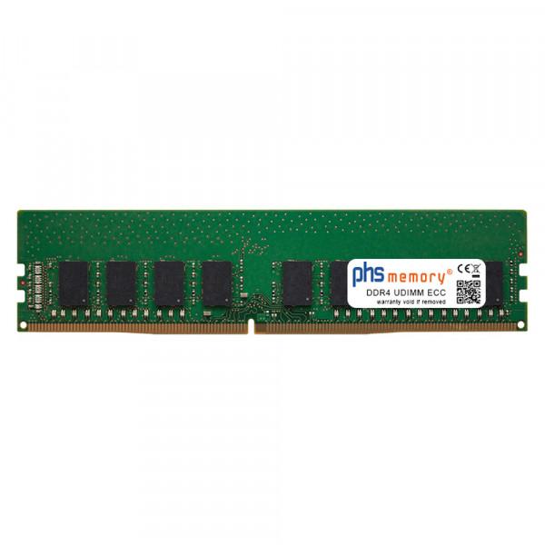 8GB Arbeitsspeicher DDR4 für QNAP TVS-h1688X-W1250-32G RAM UDIMM ECC